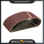 Reference : TOO366393 - Lot de 5 bandes abrasives 100 x 560 mm - Grain 80