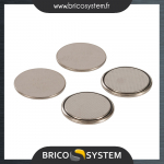 Reference : TOO350267 - Piles bouton lithium CR2016, 4 pcs