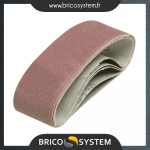 Reference : TOO354397 - 5 bandes abrasives 40 x 305 mm - Grain 120