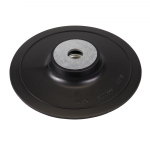 Reference : TOO108636 - Plateau-support ABS pour disques en fibre - 125 mm