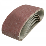 Reference : TOO171121 - Bandes abrasives 75 x 457 mm, 5 pcs - Grain 40
