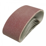 Reference : TOO185706 - Bandes abrasives 75 x 457 mm, 5 pcs - Grain 60