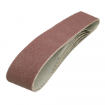 Reference : TOO186813 - Bandes abrasives 100 x 915 mm, 5 pcs - Grain 80