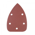 Reference : TOO196588 - Feuilles abrasives triangulaires auto-agrippantes 140 mm, 10 pcs - Grain 240