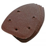 Reference : TOO245094 - Feuilles abrasives triangulaires auto-agrippantes 140 mm, 10 pcs - Grain 60