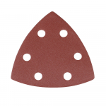 Reference : TOO264949 - Feuilles abrasives triangulaires auto-agrippantes 90 mm, 10 pcs - Grain 240