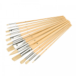 Reference : TOO282606 - Pinceaux d'artiste, 12 pcs - Pointes assorties
