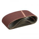 Reference : TOO320806 - Bandes abrasives 100 x 610 mm, 5 pcs - Grain 100