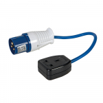 Reference : TOO341082 - Adaptateur/convertisseur 16 A - 13 A - Fiche 16 A - Prise 13 A