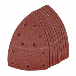 Reference : TOO352528 - Feuilles abrasives auto-agrippantes 93 mm, 10 pcs - Grain 80