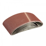 Reference : TOO363320 - Bandes abrasives 100 x 610 mm, 5 pcs - Grain 80