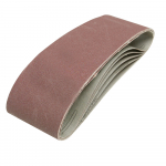 Reference : TOO391857 - Bandes abrasives 75 x 533 mm, 5 pcs - Grain 40