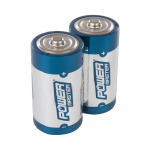 Reference : TOO408718 - Piles alcalines Super LR14 type C, 2 pcs