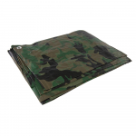 Reference : TOO488443 - Bâche de camouflage - 2,4 x 3 m (nominales) / 2,3 x 2,85 m (finales)