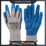 Reference : TOO427550 - Gants de maçon enduction latex - L 10