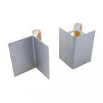 Reference : TOO633461 - Truelles d'angle, 2 pcs - 125 x 80 mm