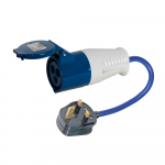 Reference : TOO818738 - Adaptateur/convertisseur 13 A - 16 A - Fiche 13 A - Prise 16 A