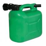 Reference : TOO847074 - Bidon à carburant plastique 5 L - Vert