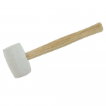 Reference : TOO868607 - Maillet caoutchouc blanc - 680 g