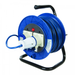Reference : TOO851543 - Enrouleur de câble électrique sur pied 16 A - 230 V - 2 prises - 25 m