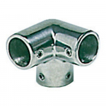 Reference : ACC0651 - Angle 3 voies inox - 22 mm