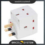 Reference : TOO439477 - Bloc multiprise triple 230 V - 13 A 230 V