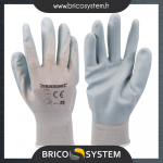 Reference : TOO456974 - Gants nylon enduction nitrile expansé - L 10