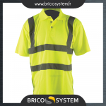 Reference : TOO457007 - Polo haute visibilité - classe 2 - Taille XL (108 - 116 cm)
