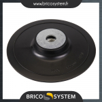 Reference : TOO309814 - Plateau-support ABS pour disques fibres - 150 mm
