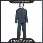 Reference : TOO380783 - Tenue imperméable bleue, 2 pcs - L 74 - 130cm