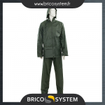 Reference : TOO669853 - Tenue imperméable verte, 2 pcs - L 74 - 130 cm