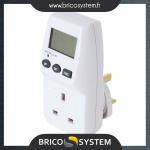 Reference : TOO629830 - Compteur de consommation d'énergie 230 V - Prise anglaise 13 A