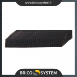 Reference : TOO663120 - Bandes en carbure de silicium, 10 pcs - Grains : 3 x 60, 4 x 80 et 3 x 100