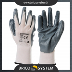 Reference : TOO675069 - Gants nylon enduction nitrile - L 10