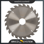 Reference : TOO702531 - Lame de scie circulaire - 165 x 30 mm, 24 dents