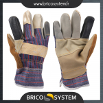 Reference : TOO633603 - Gants de dockers patchwork - L