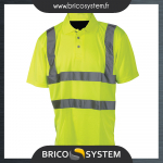 Reference : TOO245059 - Polo haute visibilité - classe 2 - Taille L (100 - 108 cm)