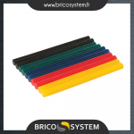 Reference : TOO476310 - Bâtons de colle colorée, 7,2 x 100 mm - 10 pcs