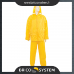 Reference : TOO273228 - Tenue imperméable jaune, 2 pcs - XXL 79 - 138 cm