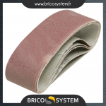 Reference : TOO129242 - 5 bandes abrasives 40 x 305 mm - Grain 40