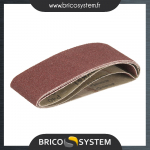 Reference : TOO190298 - Lot de 3 bandes abrasives en oxyde d'aluminium - TCMBS40G 3 Bandes abrasives G40