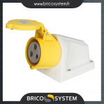 Reference : TOO277868 - Prise raccordement fixe 16 A - 110 V - 3 trous